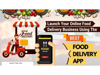 Launch Your Own Online Food Delivery App Business With In 3-6 weeks or Less.